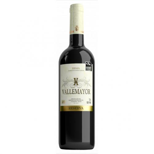 Sarkanvīns Vallemayor Reserva 2014 14% 0.75L