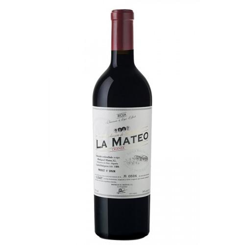Sarkanvīns La Mateo Crianza 2016 14.5% 0.75L