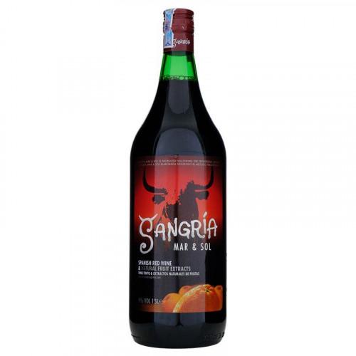 Sarkanvīns Sangria Zurra Mar&Sol 13.5% 1L