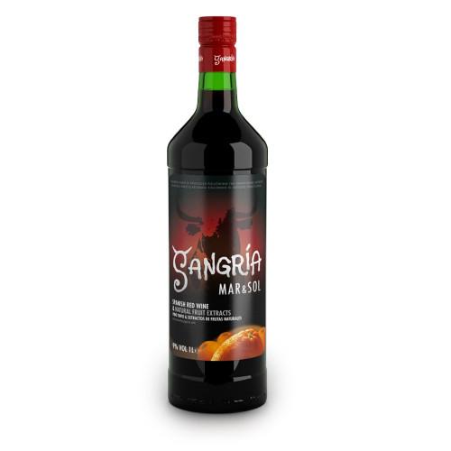 Sarkanvīns Sangria Mar&Sol 9% 1L