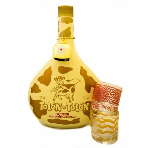 Liķieris ar viskiju un krējumu Tolon-Tolon 17% 0.7L