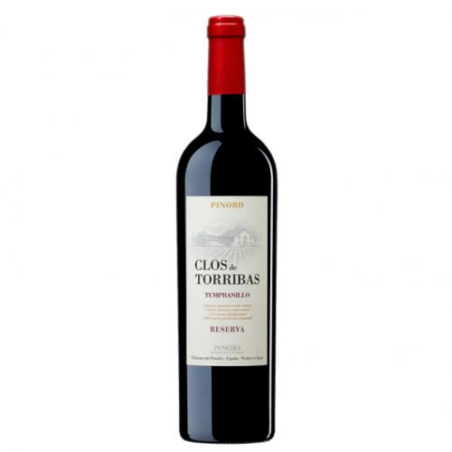 Sarkanvīns Clos de Torribas Reserva 2015 12.5% 0.75L