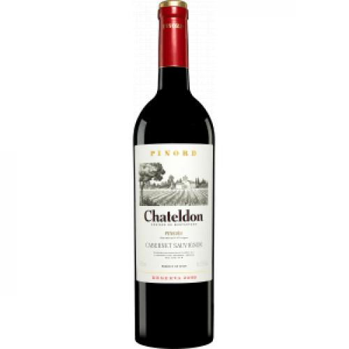 Sarkanvīns Cabernet Sauvignon Chateldon Reserva 2015 14% 0.75L