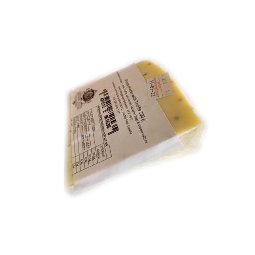 Aitas siers no svaiga piena ar melnajām trifelēm, 200g