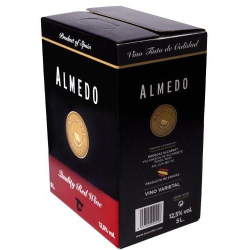 Sarkanvīns Almedo Tempranillo 12.5% 5L