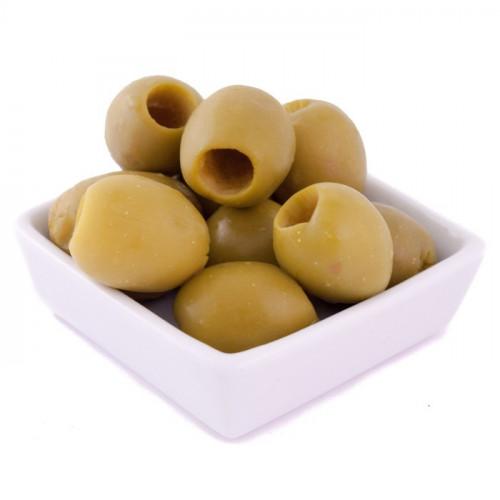 Zaļās olīvas Gordal bez kauliņiem, 2kg