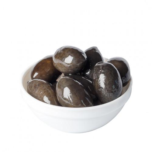 Melnās lielās (saldenas) olīvas ar kauliņiem, 2.5kg