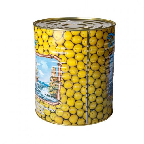 Zaļās olīvas Manzanilla ar kauliņiem, 5kg