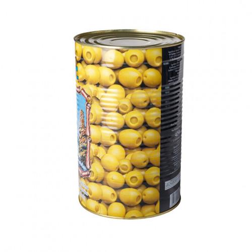 Zaļās olīvas Manzanilla pildītas ar anšovu pastu, 2.1kg