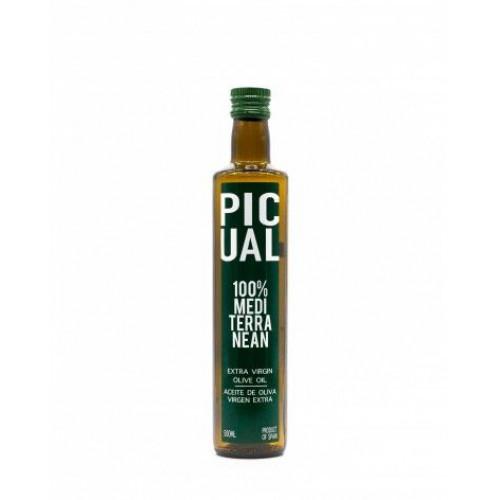 Olīveļļa Picual Mediterranean Extra Virgen, 500ml