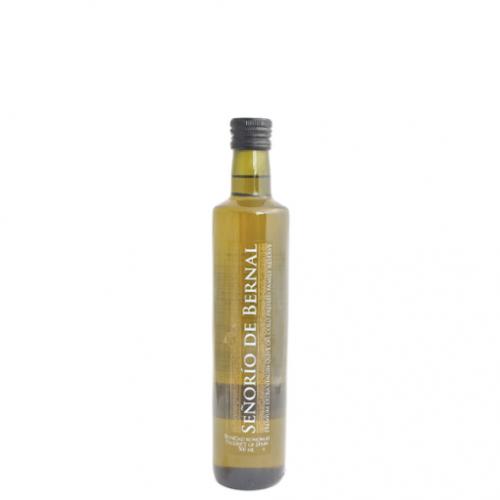 Pirmā aukstā spieduma olīveļļa Senorio de Bernal no Arbequina un Picual olīvām, 250ml