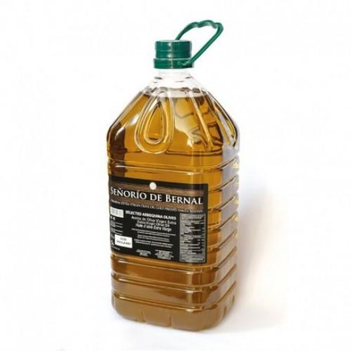 Pirmā aukstā spieduma olīveļļa Senorio de Bernal no Arbequina olīvām, 1L