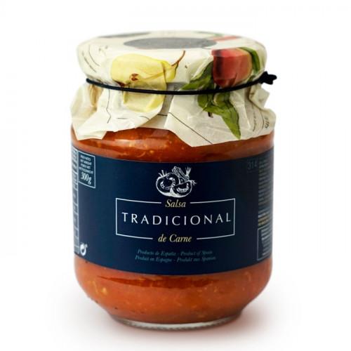 Tradicionālā tomātu mērce ar gaļu, 300g