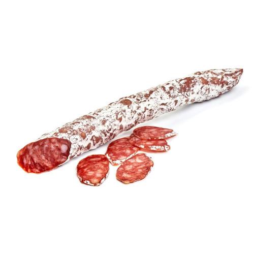 Vītināta cūkgaļas desa Fuet ar trifeļu garšu, 90g - 100g/gab