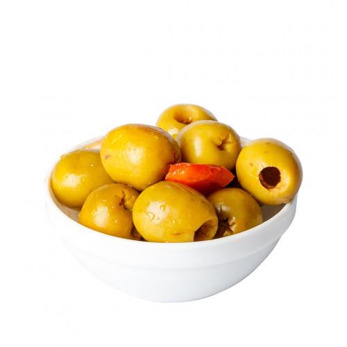 Zaļās olīvas Gordal bez kauliņiem Alinadas, 2kg