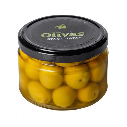 Zaļās olīvas Manzanilla ar kauliņiem, 150g