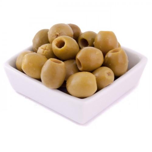 Zaļās olīvas Manzanilla bez kauliņiem, 2kg