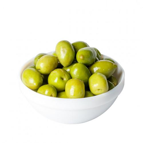 Zaļās olīvas ar kauliņiem un zemu sāls saturu Alinada Yeye, 2.5kg