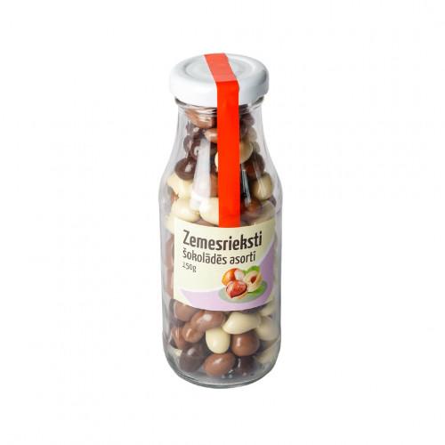 Zemesrieksti šokolādes asortī, 150g