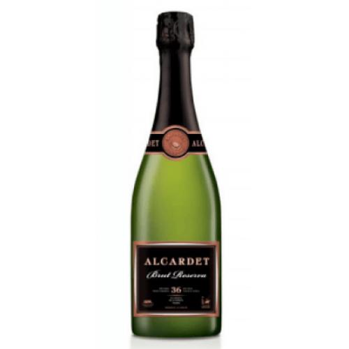 Dzirkstošais baltvīns Alcardet  Brut Reserva 12.0% 0.75L
