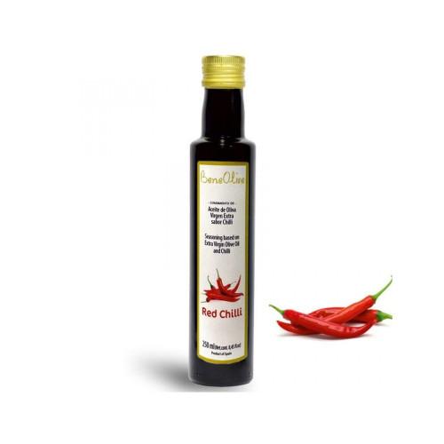 Olīveļļa ar čilli piparu garšu, 250ml
