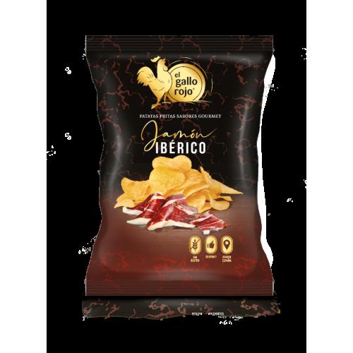 Kartupeļu čipsi ar vītinātas gaļas Jamon garšu, 150g