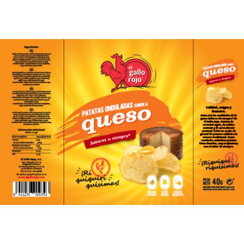 Kartupeļu čipsi ar siera garšu, 40g
