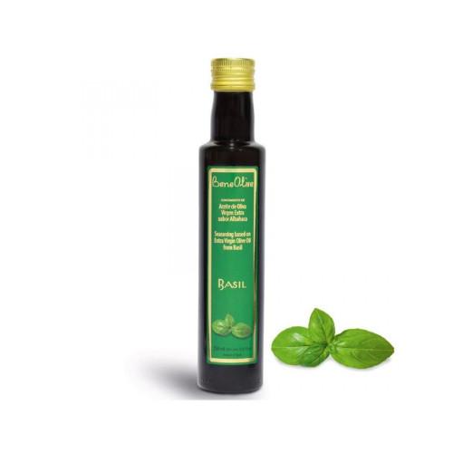 Olīveļļa ar bazilika garšu, 250 ml