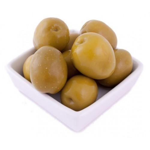 Zaļās olīvas Gordal ar kauliņiem, 2.5kg