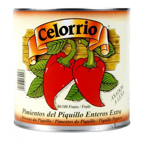 Konservēti veseli Piquillo pipari, 1.9kg