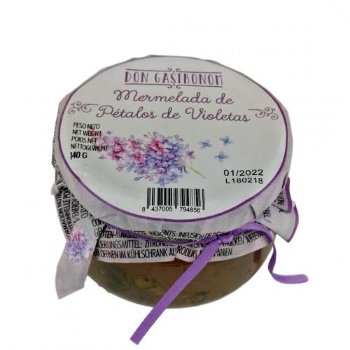 Vijolīšu ziedlapu džems, 140g